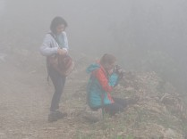 This photo highlights fog conditions, which do not prevent photography. esto resalta las condiciones de niebla, que no impiden la fotografía.