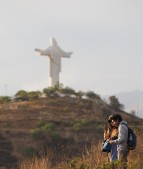 The Cristo... as close as we got to it.