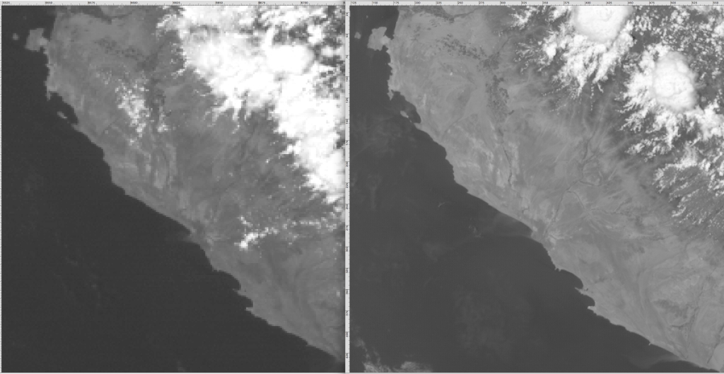 GOES 14 vrs GOES16 Mar 17 2014 2019