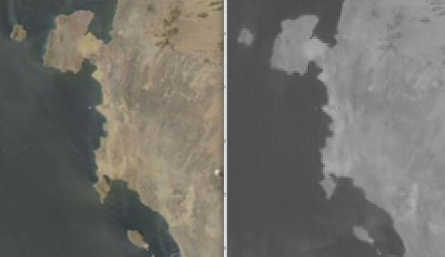 MODIS GOES16 comparison Mar 17 2019