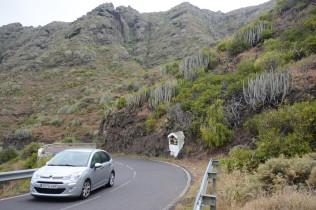 La Gomera dry hillsides.