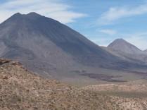 The Tres Virgenes Volcano (several distinct cones).