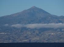 El Teide from a ferry.